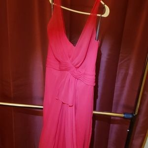 Red Vera Wang Evening Gown